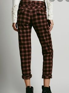 Free people would have been plaid trouser